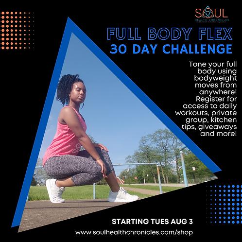 Full Body Flex-30 Day Challenge