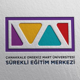 ÇOMÜ Sürekli Eğitim Merkezi - Logo Tasarımı