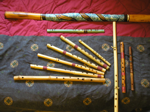 Bansuri Flutes