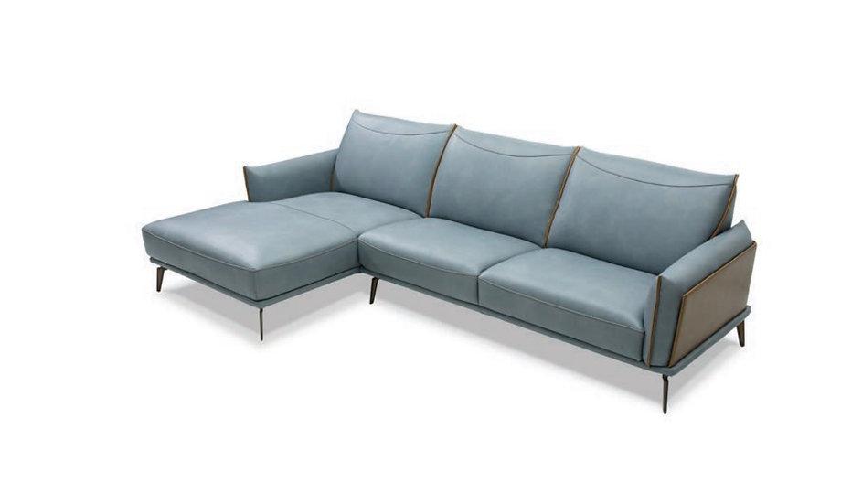 Lanza Italian Leather Sofa Set