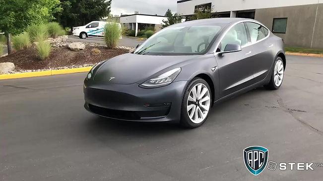 Tesla full car STEK DYNOmatt clear bra