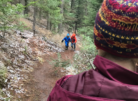 Stop hiking with your kids