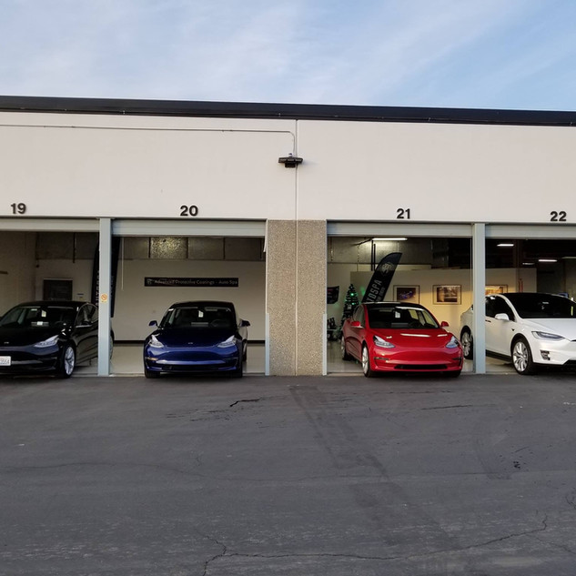 APC Auto Spa loves Tesla's