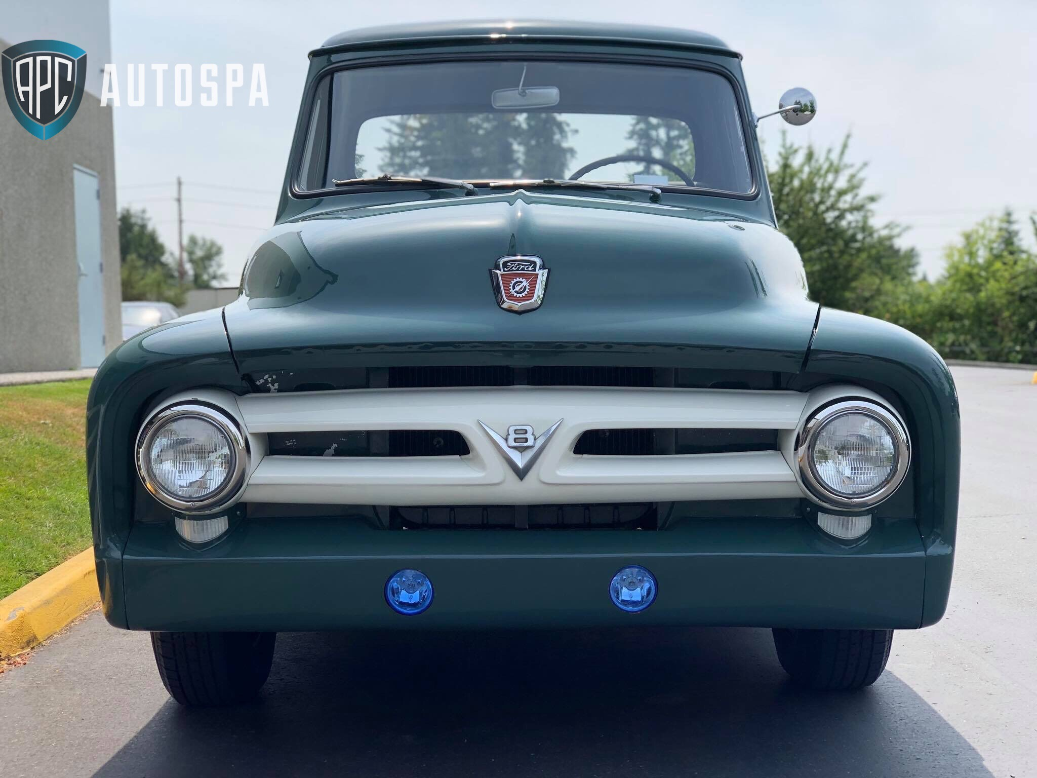 Ford F-100 Truck Detail