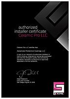 Ceramic Pro Certified Installer