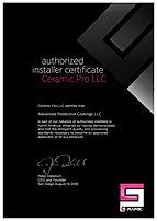 Ceramic Pro Certified Installer