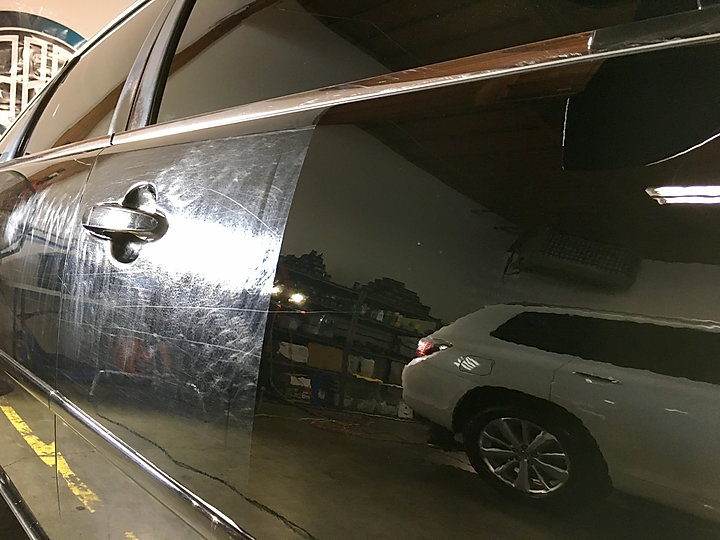 Multi step paint correction