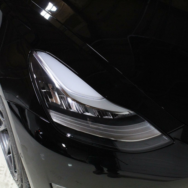STEK Pain Protection film on Tesla.