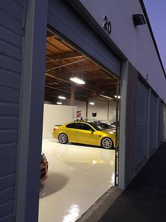 Clean Car Storage
