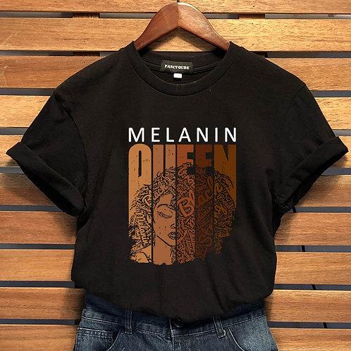 """Women's """"Melanin Queen"""" T Shirt"""