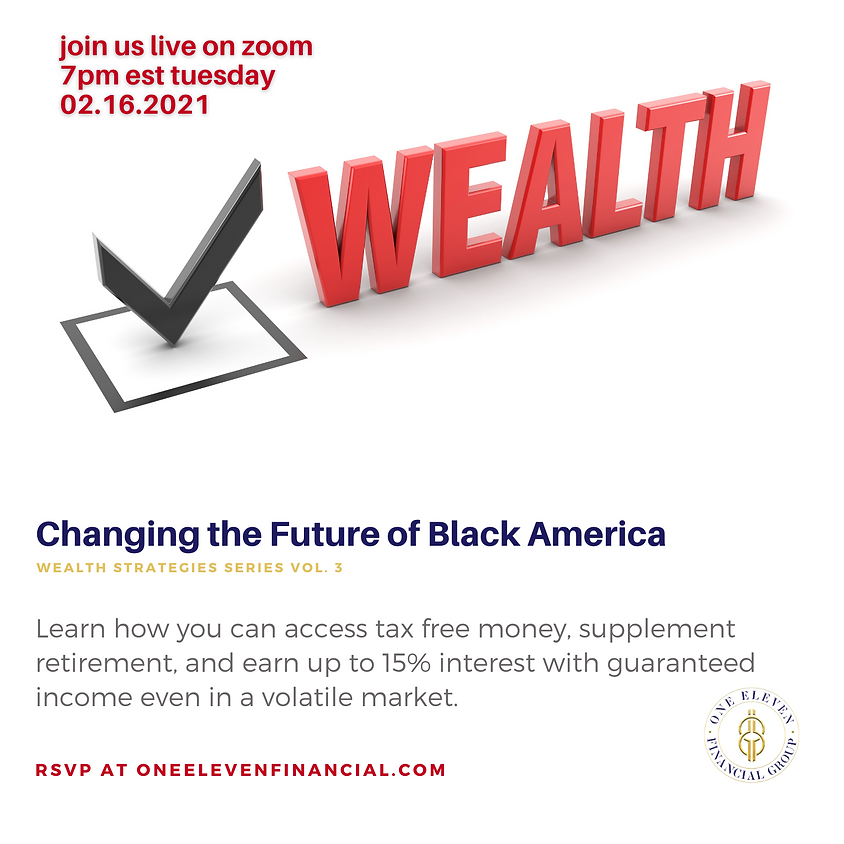 Wealth Strategies: Changing The Future Of Black America