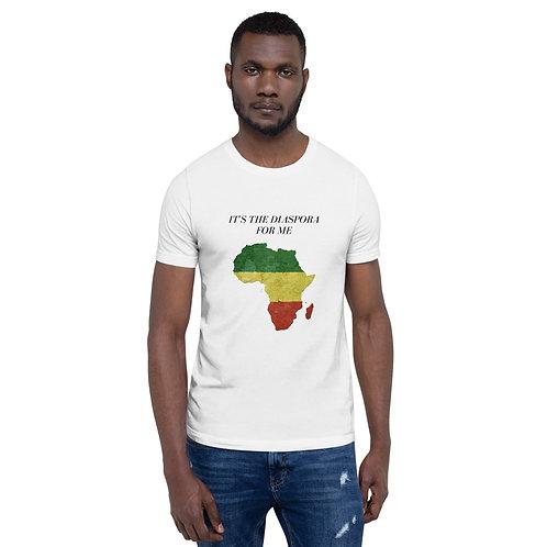 It's The Diaspora For Me (White)   Unisex Comfort Tee