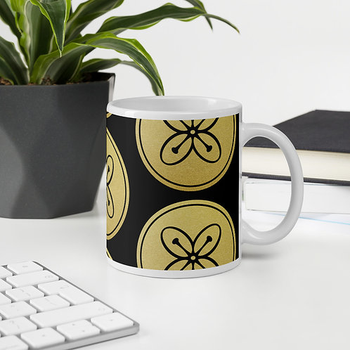 Signature Logo Mug - Black/Gold