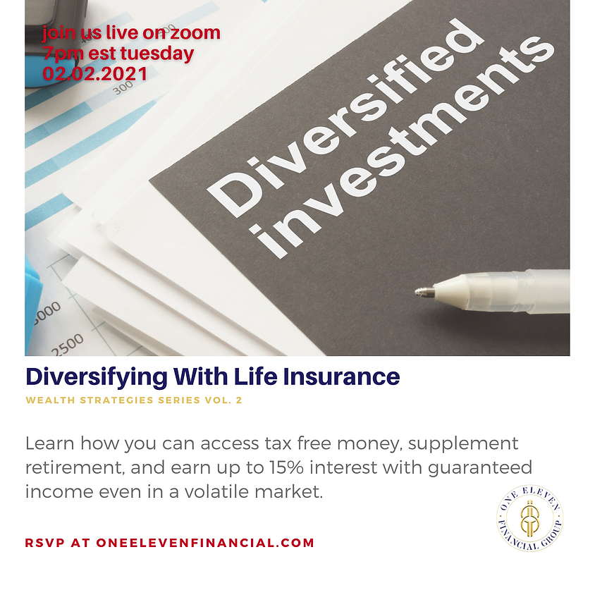 Wealth Strategies: Diversifying With Life Insurance