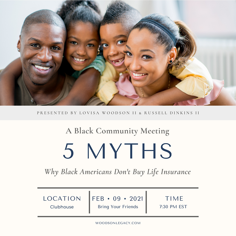5 Myths | Why Black Americans Don't Buy Life Insurance