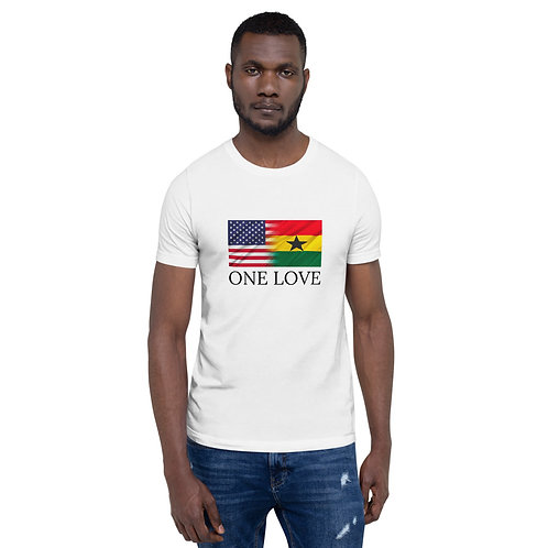 One Love US & Ghana | Unisex Comfort Tee