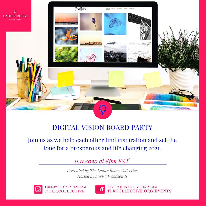 Digital Vision Board Party