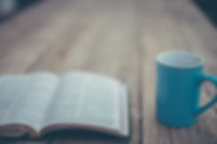 open bible coffee mug expository preaching