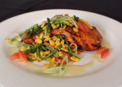 Char grilled Atlantic Salmon