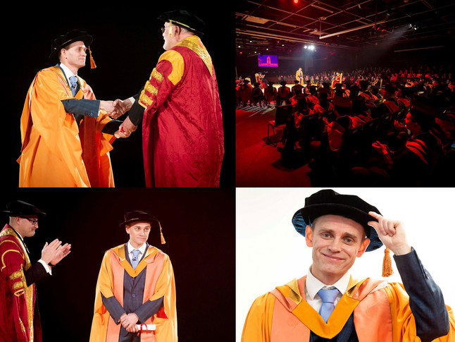 HONORARY DOCTOR OF TECHNOLOGY