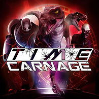 Time Carnage, Video Game, VR, Logo, PS4, PSVR, Steam VR, Vive, Oculus