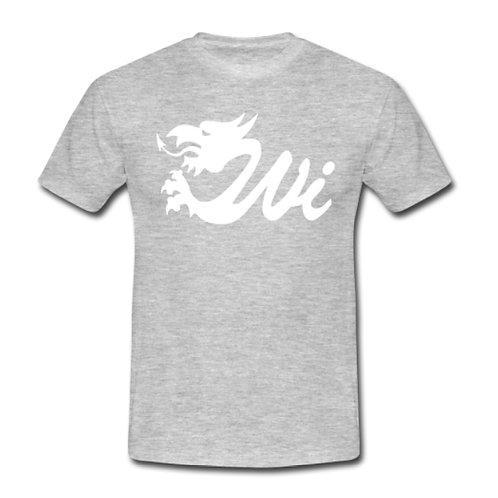 Wi T-Shirt - Grey with White Logo