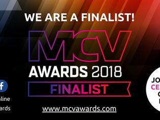 MCV AWARDS FINALIST FOR BEST INDIE GAMES LABEL 2018