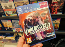 Time Carnage PlayStation VR Get Its Boxed Retail Launch!