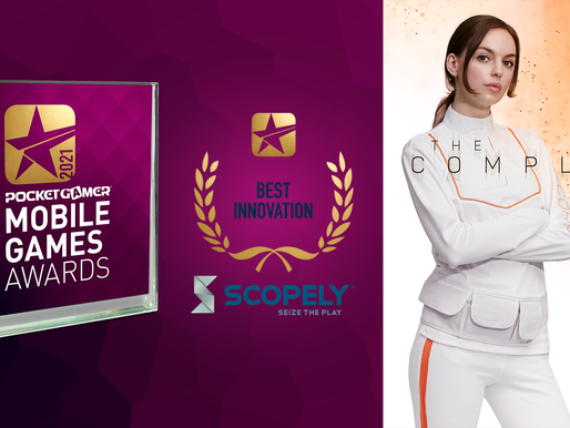 THE COMPLEX RECEIVES NOMINATION IN THE POCKET GAMER MOBILE GAMES AWARDS 2021