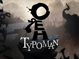 WORDS are more powerful than SWORDS in Typoman on Nintendo Switch
