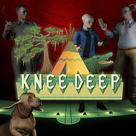 Knee Deep, Video Game, Logo, PS4, Xbox One, PC