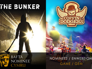 THE BUNKER & COFFIN DODGERS BAFTA CYMRU NOMINEES!