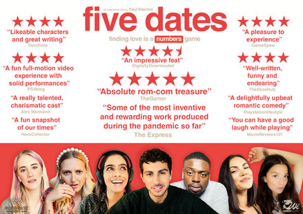 FIVE DATES LAUNCHES WITH RAVE REVIEWS