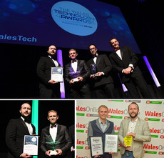 WALES TECHNOLOGY AWARDS & WALES ONLINE AWARDS WINNERS!
