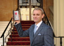 Our Co-Founder & MD David Banner Receives his MBE at Buckingham Palace