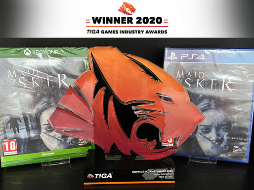 TIGA GAME INDUSTRY AWARD WINNER 2020!