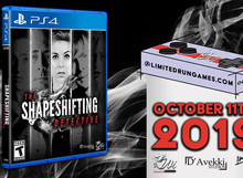 THE SHAPESHIFTING DETECTIVE GETS A LIMITED RUN PS4 BOXED RELEASE
