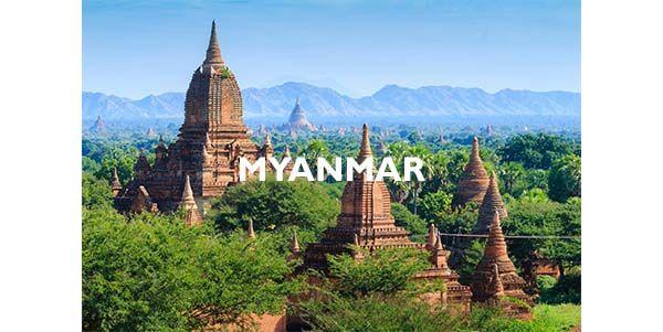 Agence de voyages Myanmar
