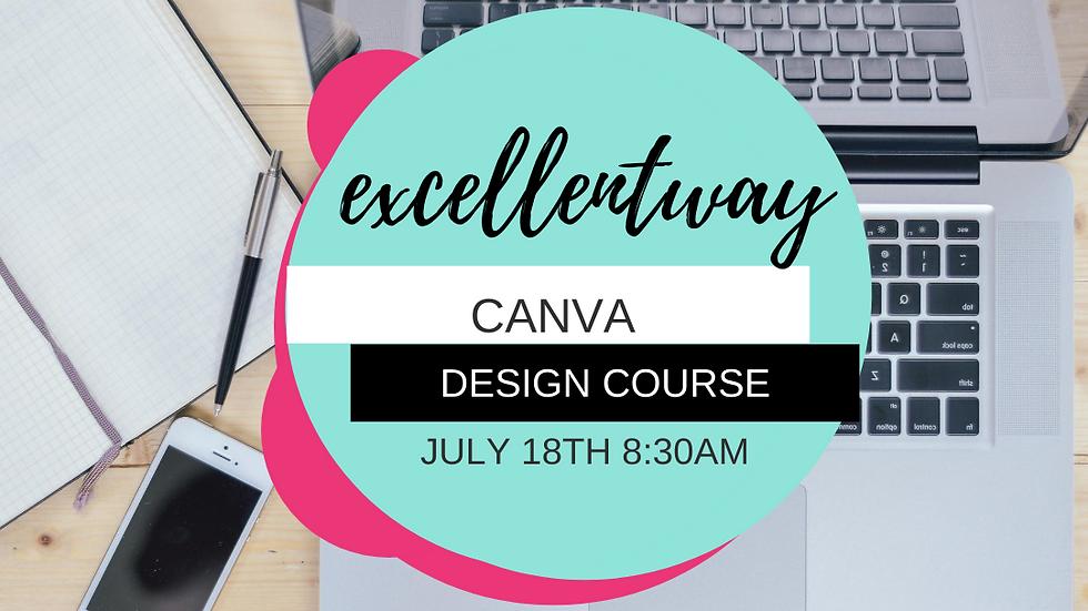 Canva Design Course