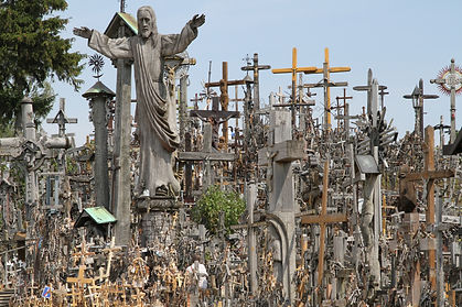 332 - Hill of Crosses, Saiuliai, Lithuan