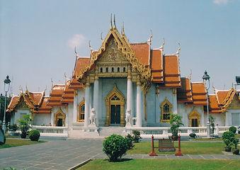 Bangkok's Wat Benjamaborpit, or Marble Temple