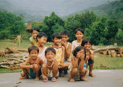 Happy Vietnamese children