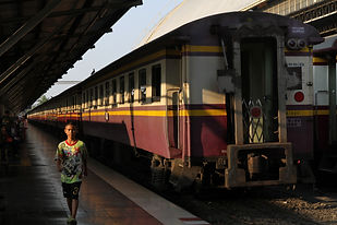 147 - Bangkok Railway Station, Thailand.