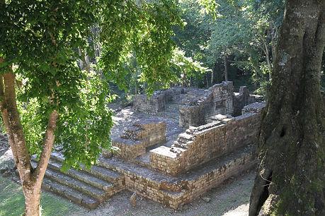 208 - The Jaguar Plaza, Copan, Honduras.