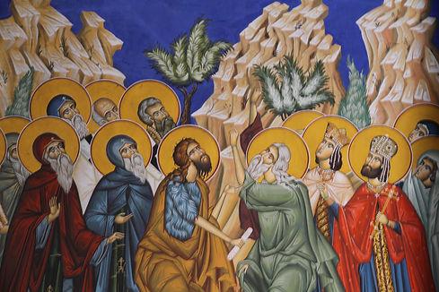 191- Fresco, Tvrodos Monastery, Bosnai &