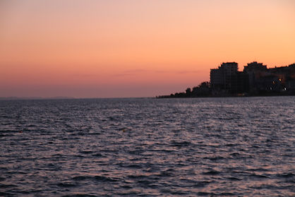 260 - Sunset, Saranda, Albania.JPG
