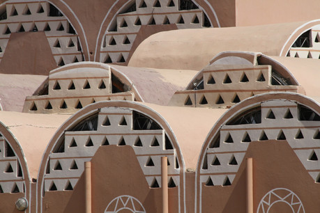 The attractive desert architecture of the Archaeological Museum at Kerma
