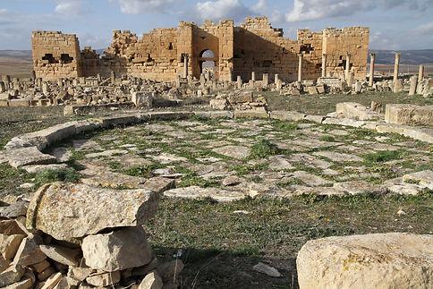 34 - The Roman ruins at Khemissa, Algeri