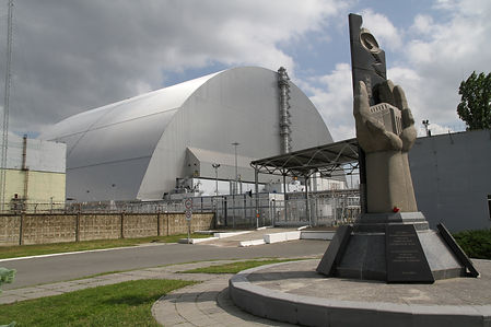 Reactor No. 4 at Chernobyl