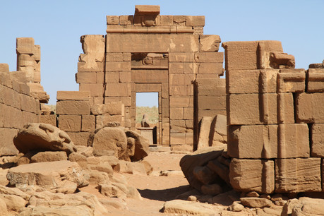 The 1st century AD Temple of Amun located at Naga